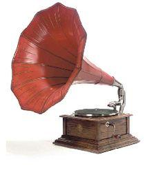 Zonophone horn gramophone (circa 1913)