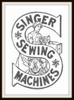 Singer Sewing Machine Icon Picture