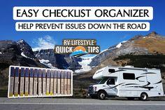 DIY RV Checklist System: Remember everything! - RV Lifestyle