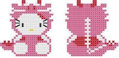 Llavero Hello Kitty Dino