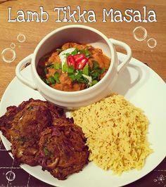 Syn free lamb tikka masala and onion bhaghi #slimmingworld