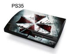 Taylorhe Skins PS3 Decal/ resident evil umbrella logo Amazing Discounts Your #1 Source for Video Games, Consoles & Accessories! Multicitygames.com Click On Pins For More Info