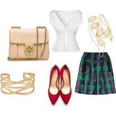 """""""Work outfit"""" by clarrisa-clinton on Polyvore"""