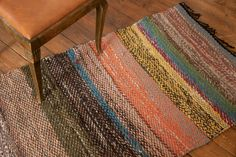 """Rug """"Deep into the lichen"""" - Recycled textiles - Terra Mama Small Yellow Flowers, Pine Floors, Keep Warm, Brown And Grey, Hand Weaving, Recycling, Textiles, Deep, Rugs"""