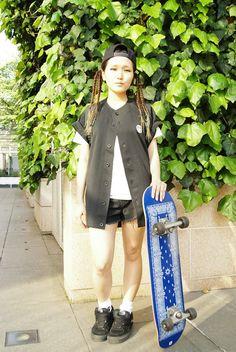 ストリートスナップ [ちびっこ玩具] | CREPEMAN, Dickies, JanSport, SSUR, VANS | 原宿 | 2012年06月06日 | Fashionsnap.com