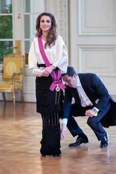 King Abdullah and Queen Rania Visit Belgium