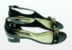 Sandały damskie Chantal Marie 2625/1, lakier plus nubuk, 35 mm, 248 PLN