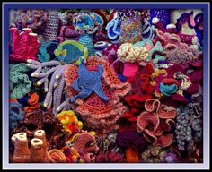 The Crochet Coral Reef Photograph  - The Crochet Coral Reef Fine Art Print