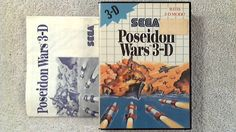 Poseidon Wars 3-D Sega Master System