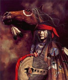 War Ponies ~ JD Challenger. One of my favorite artists!