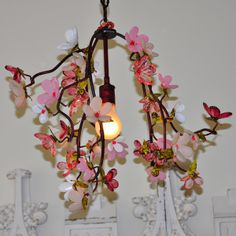Rachel Ashwell Shabby Chic Couture Floral Bouquet Chandelier