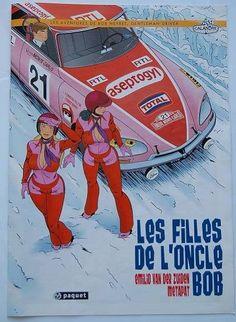 Citroen DS on the cover of Les Filles de L'Oncle Bob