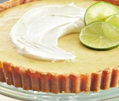 Key Lime Pie: This American favourite has a tangy lime filling, and goes perfectly with tea when you find a quiet moment. http://www.bakers-corner.com.au/recipes/sweetened-condensed-milk-recipes/key-lime-pie/key-lime-pie/