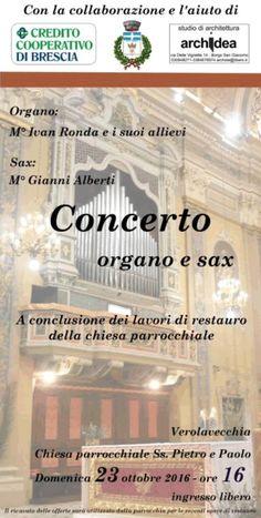 Concerto Organo e Sax Verolavecchia