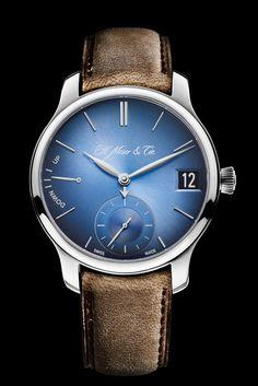 H. Moser Cie Endeavour Perpetual Calendar Funky Blue