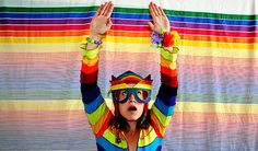day 157 - super rainbow dork girl ! (her words not mine lol)