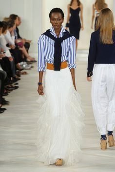 Ralph Lauren at New York Fashion Week Spring 2016 - Runway Photos