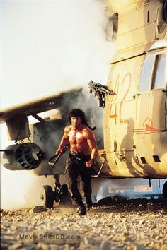 A gallery of Rambo III publicity stills and other photos. Featuring Sylvester Stallone, Richard Crenna, David Morrell, Peter Macdonald and others. Action Movie Stars, Best Action Movies, Series Movies, Movie Characters, Silvestre Stallone, Rambo 3, Creed Movie, Keanu Reeves John Wick, Epic Movie