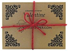 DrBeekeeper Organic Nut Valentines Gift Box (6 x 1.5 oz) - Brought to you by Avarsha.com