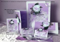 A full set of wedding stationary, including invite, RSVP reply, envelope, place card, Menu, order of sevice sheet and even thank you if you wish. This set can be used in many different ways to suit your needs, not too much to do, as you have so many to make, just have fun and enjoy the wedding. Also available in other colours.