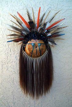 Margaret Sullivan gourd mask