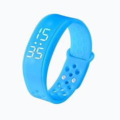 Smart Wearable Wristband, W6 Sports Health Pedometer, KOOZIMO Wristband Watch Bracelet (Blue). § Material:Medical level TPU Battery:60mAH, chargeable polymer lithium battery Duration:15days LED:2LEDs Storage:Data, after uploaded to a server, can be stored as long as 3 years Mode:Activity/Sleep/Nap/Bluetooth. § Data transmission:Bluetooth4.0 Accompanying software:iphone Android 4.3 and later versions Waterproof:Daily waterproofing, IP44 Dimension: (L x W x H) 214 x 16 x 8MM...