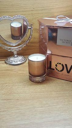 fa875661c0 Victoria secret love fragrance candle  VictoriasSecret