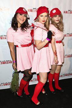 A League of Their Own Halloween costume idea