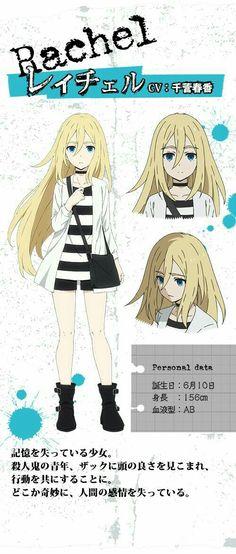 Rachel Gardner Rpg Horror Games Angel Of Death Anime