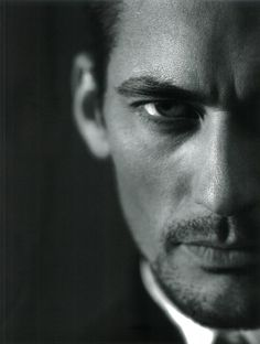 David Gandy  Photo by Eddie Bovington  Used for cover of Velour Magazine  Published: August 2011