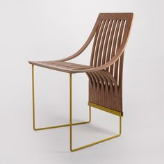 One Cut Chair - Plywood Furniture Design - Scott Jarvie #IndustrialChair