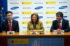 Samsung se volcará en colegios de zonas rurales o con mucho abandono escolar http://www.channelpartner.es/soluciones/noticias/1074562002802/samsung-school-toca-puerta-ministerio-educacion.1.html
