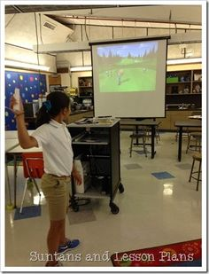 Using the Wii in the Math Classroom