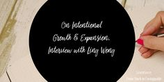 On Intentional Growth & Expansion. Interview with Ling Wong in Podcast From Stuck to Unstoppable. #mompreneur #womeninbusiness #copywriting #mindset #successtips #entrepreneurship