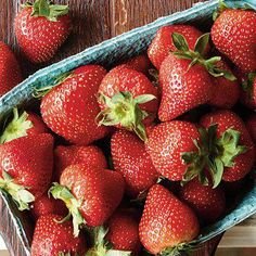 Tip: Stir in 1/2 cup sliced strawberries with your cereal or oatmeal, and you'll rack up more than half of your daily vitamin C.