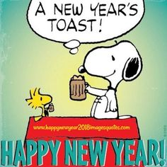 A Charlie Brown Holiday added a new photo. - A Charlie Brown Holiday Snoopy Love, Snoopy Happy New Year, Happy New Year Meme, Snoopy Et Woodstock, Happy New Year Greetings, Happy Year, Snoopy Christmas, Xmas, Charlie Brown Und Snoopy