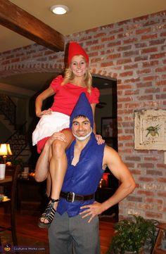 Gnomeo & Juliet - Homemade costumes for couples @WeddingsbyJamieIrene