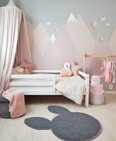 570 likes 38 comments Carina Norway cari Baby Bedroom, Baby Room Decor, Nursery Room, Girls Bedroom, Baby Room Colors, Bedroom Wall Colors, Bedroom Murals, Ideas Habitaciones, Toddler Rooms