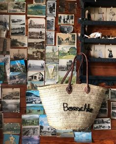 Straw Bag, Cottage, Handmade, Bags, Life, Handbags, Hand Made, Cottages, Cabin