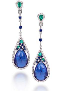 Digo Valenza Cashmere collection earrings