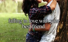 falling in love with my best friend. yup, that's how it will happen. this relationship that I attracted is based on the foundation of years of friendship and we fell in love as friends. amazing #LOA