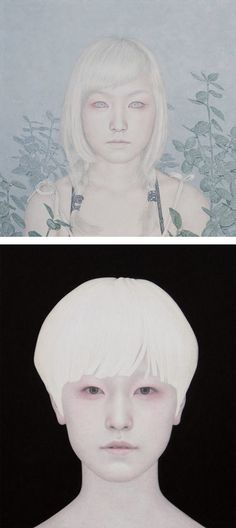 Paintings by Yong Sung Heo