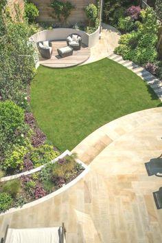 A south-facing contemporary family garden modern garden by kate eyre garden desi. - A south-facing contemporary family garden modern garden by kate eyre garden design modern -