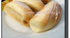 Mléčné francouzské houstičky - My site Flour Recipes, Pizza Recipes, Bread Recipes, Cooking Recipes, Czech Recipes, Russian Recipes, No Bake Pies, Home Baking, Bread And Pastries