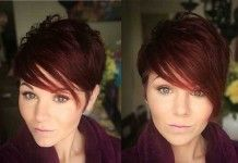 15+ Red Pixie Cut