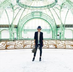 Instagram Spot: The Grand Palais, where Chanel, Dior, and more houses show each season // Photogenic Spots in Paris
