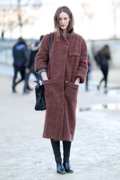 The Best Models Off Duty Snaps from Paris Fashion Week Fall 2014