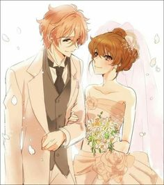 Brothers Conflict - Futo and Ema's Wedding