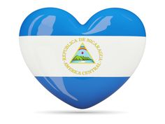 Heart icon. Download flag icon of Nicaragua