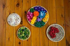 leftleg designs: Crochet Coral / Rockpools